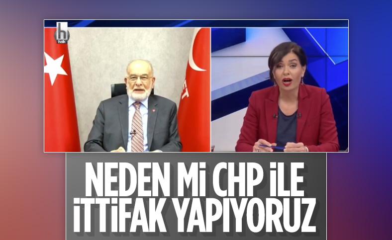 Temel Karamollaoğlu CHP ile neden ittifak olduklarını açıkladı