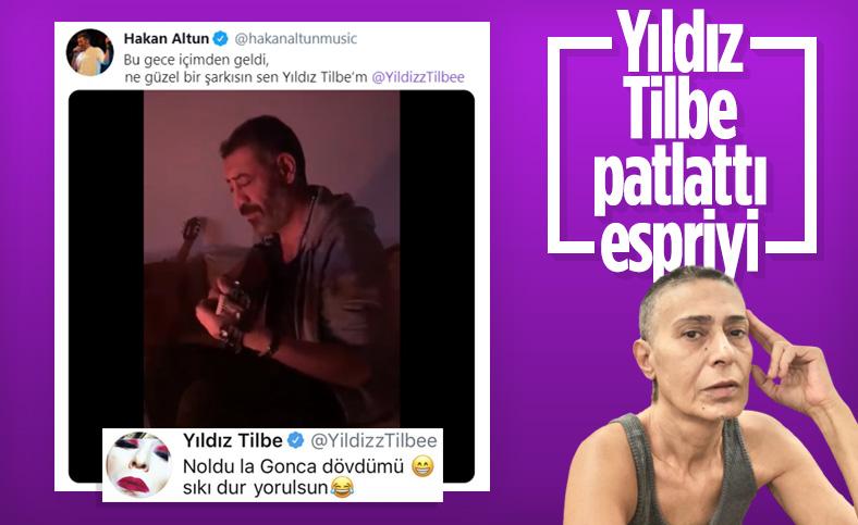 Yıldız Tilbe'den Hakan Altun'a esprili yorum