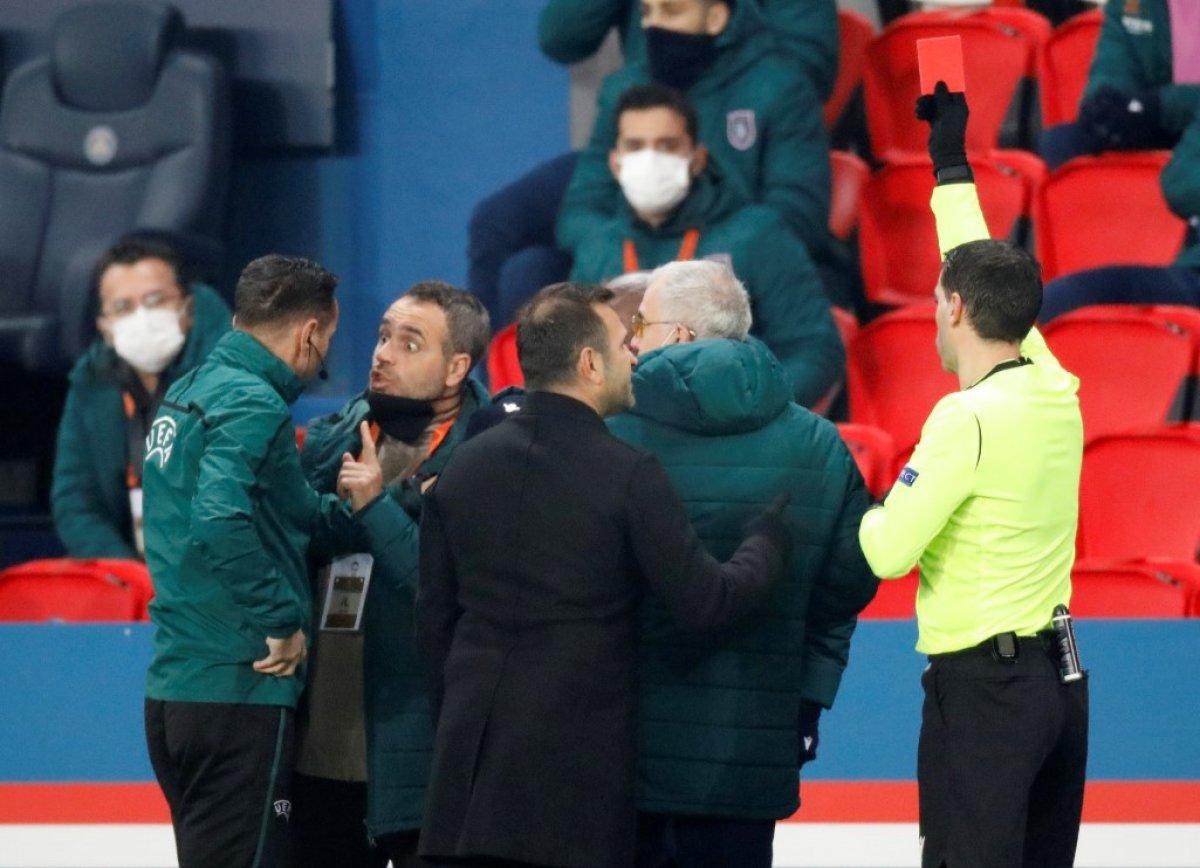 PSG - Başakşehir, maçına ırkçılık sebebiyle ara verildi #6