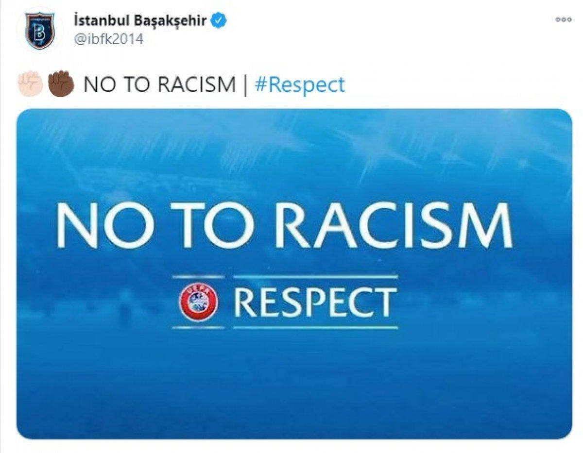 PSG - Başakşehir, maçına ırkçılık sebebiyle ara verildi #4