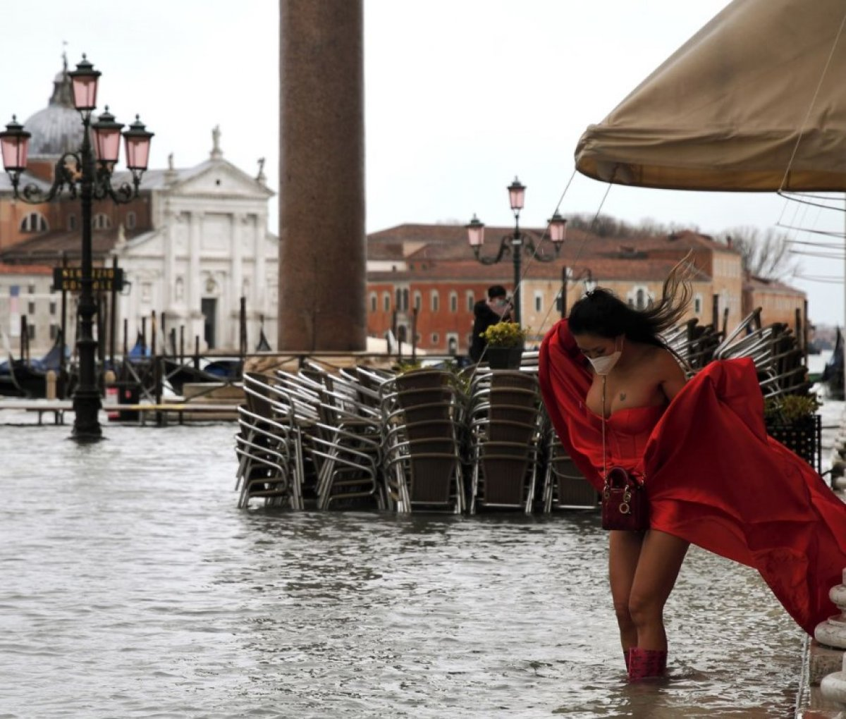 Venedik sular altında kaldı #11