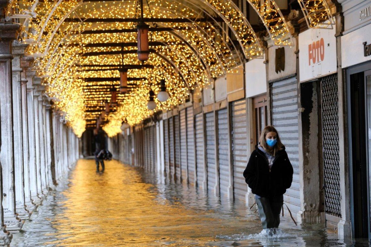 Venedik sular altında kaldı #3