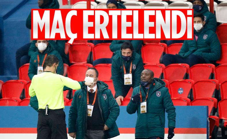 PSG - Başakşehir maçı ertelendi