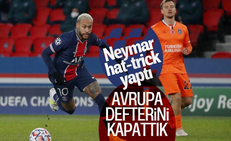 Başakşehir, Şampiyonlar Ligi'ndeki son maçında PSG'ye 5-1 yenildi