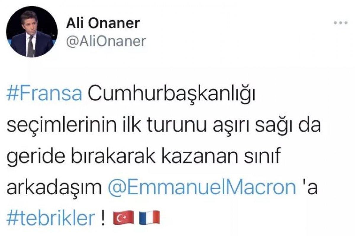 Türkiye nin Paris Büyükelçiliği görevine Ali Onaner atandı #3