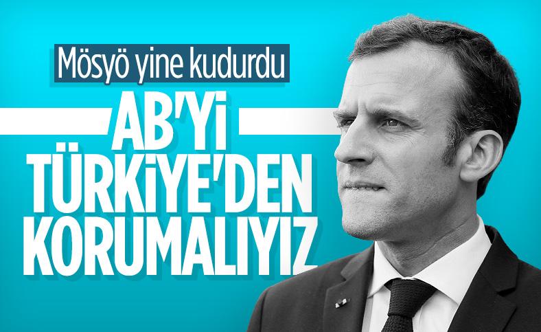 Emmanuel Macron: Türkiye'ye karşı AB ülkelerinin egemenliğini korumak zorundayız