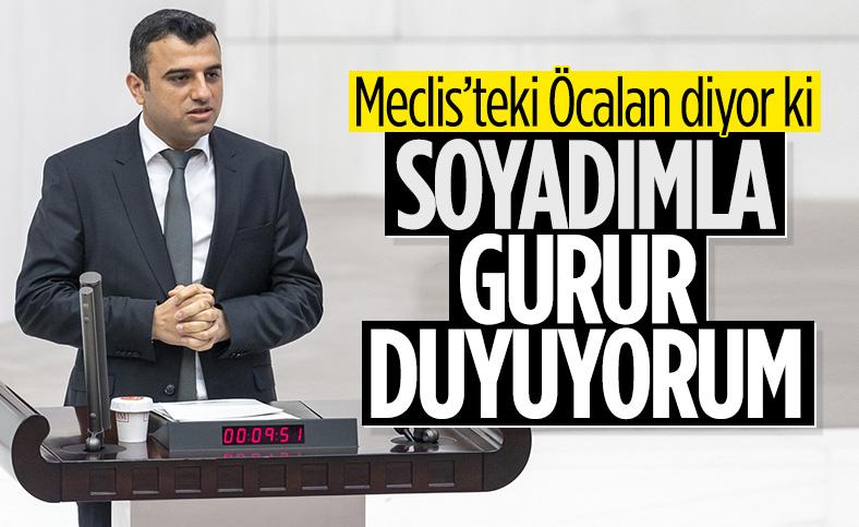 Ömer Öcalan: Soyadımla gurur duyuyorum