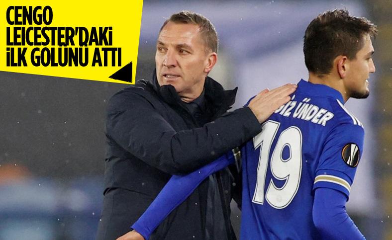 Cengiz Ünder, Leicester formasıyla ilk golünü attı