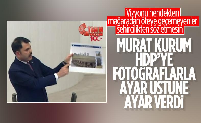 Murat Kurum: Hendekten mağaradan öteye geçemeyenler şehircilikten söz etmesin