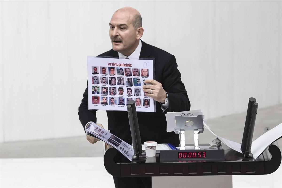 Süleyman Soylu'nun sözleri HDP'li vekilleri rahatsız etti