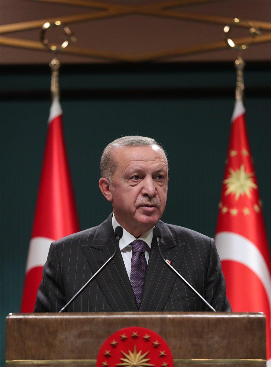 Cumhurbaşkanı Erdoğan: 31 Aralık tan 4 Ocak a kadar sokağa çıkma kısıtlaması olacak  #2