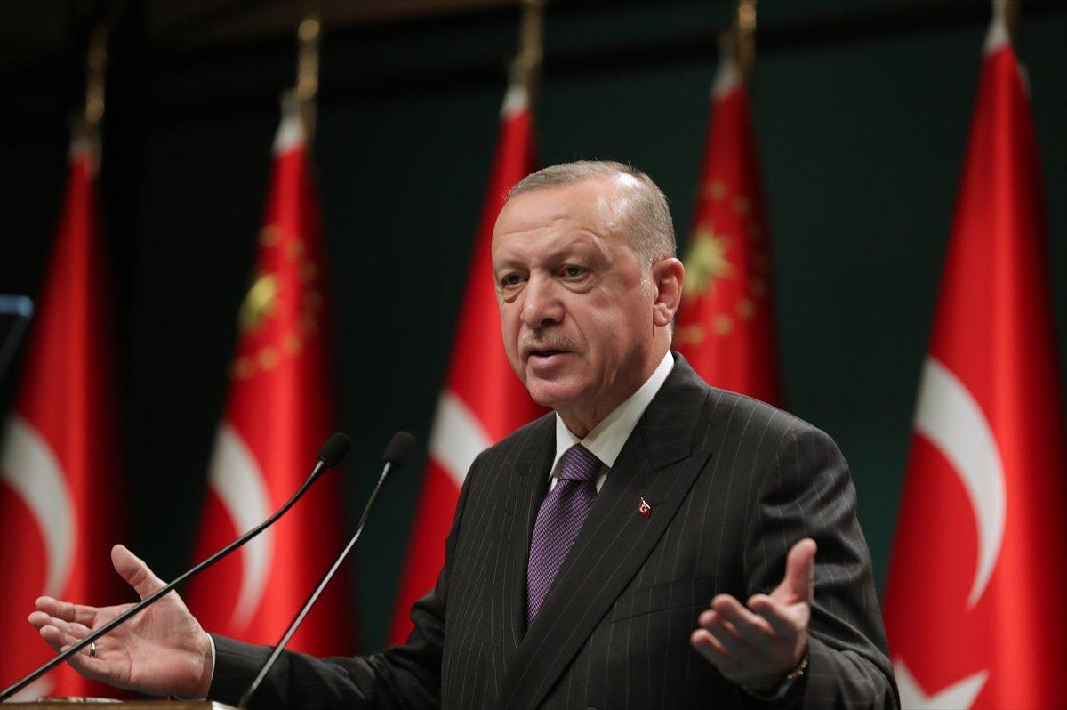 Cumhurbaşkanı Erdoğan dan esnafa destek açıklaması #1