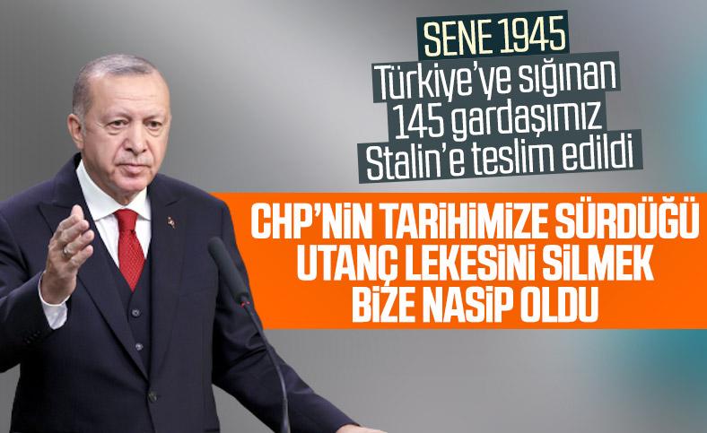 Cumhurbaşkanı Erdoğan: Boraltan faciasında CHP'nin tarihimize sürdüğü lekeyi temizledik