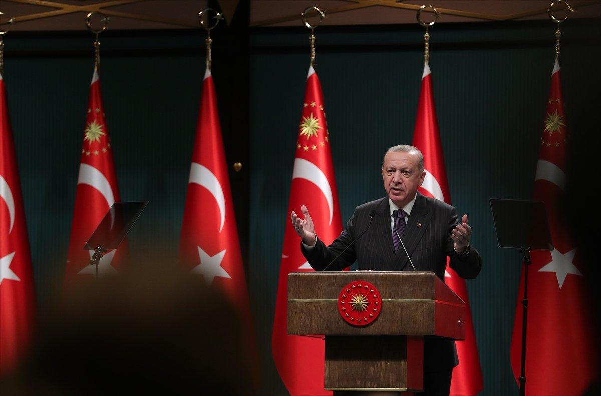 Cumhurbaşkanı Erdoğan, esnaflar için uygulanacak ek destek paketini duyurdu #2