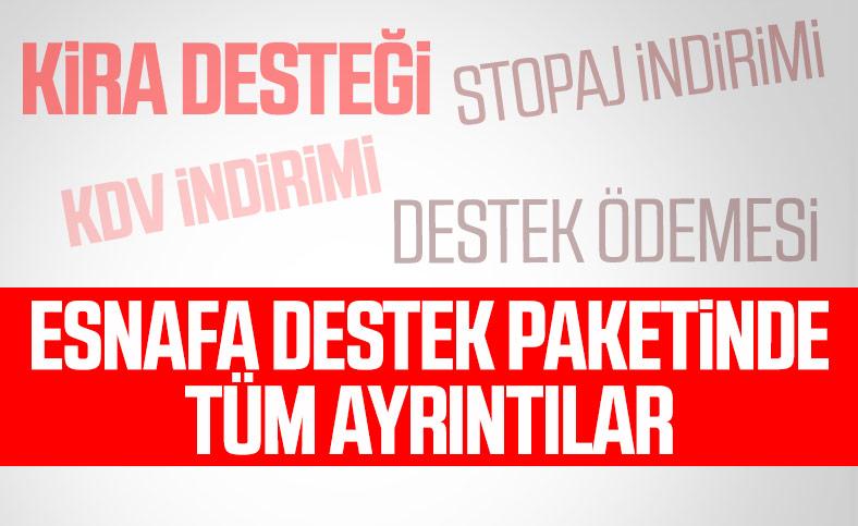 Cumhurbaşkanı Erdoğan'dan esnafa destek açıklaması