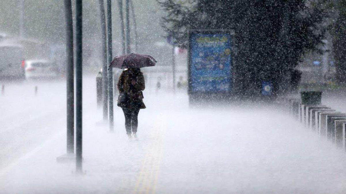 Meteoroloji: Kuzey ve güneyde sağanak, doğuda kar var #2