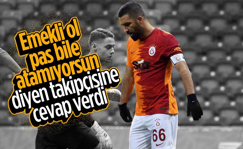 Arda Turan: Kupa maçında bile konuşur olmuşsunuz