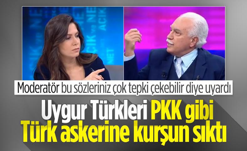 Doğu Perinçek: PKK ne ise, Doğu Türkistan İslami Partisi odur