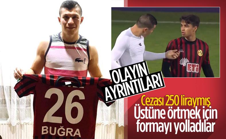 Eskişehirspor'daki forma skandalının perde arkası