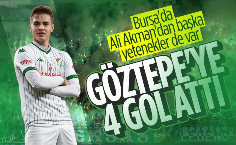 Batuhan Kör'den Göztepe'ye 4 gol