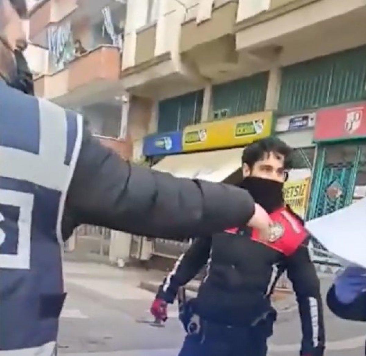Samsun polis yumruk