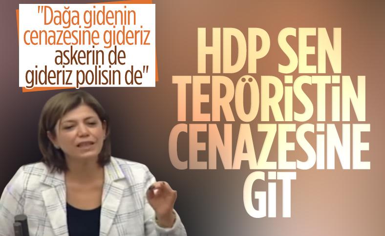 Meral Danış Beştaş: PKK'lıların cenazesine gitmeye devam edeceğiz
