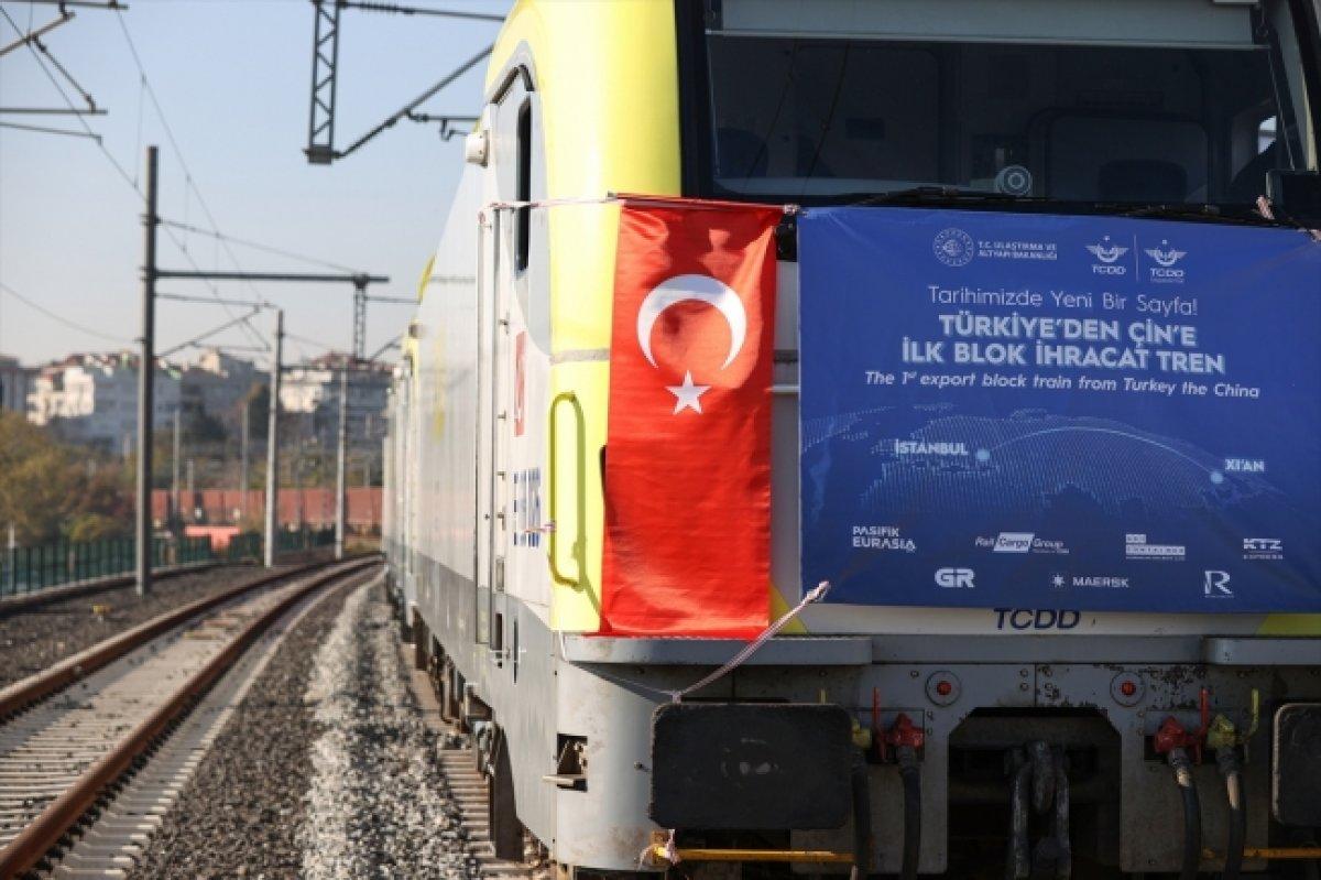 İstanbul dan törenle uğurlanan ilk ihracat treni Çin e ulaştı  #4