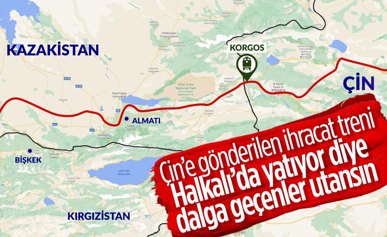 İstanbul'dan törenle uğurlanan ilk ihracat treni Çin'e ulaştı