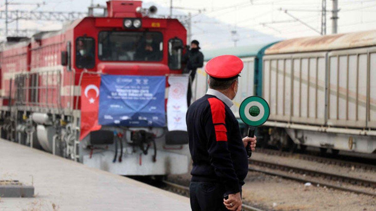 İstanbul dan törenle uğurlanan ilk ihracat treni Çin e ulaştı  #5