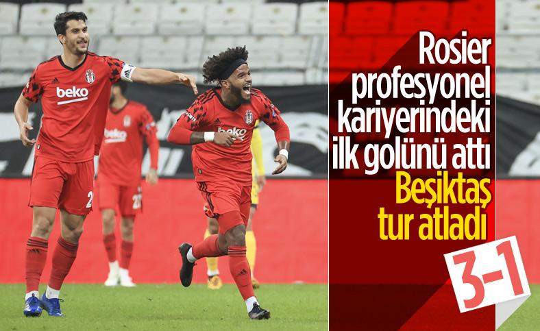 Tarsus İdman Yurdu'nu yenen Beşiktaş tur atladı