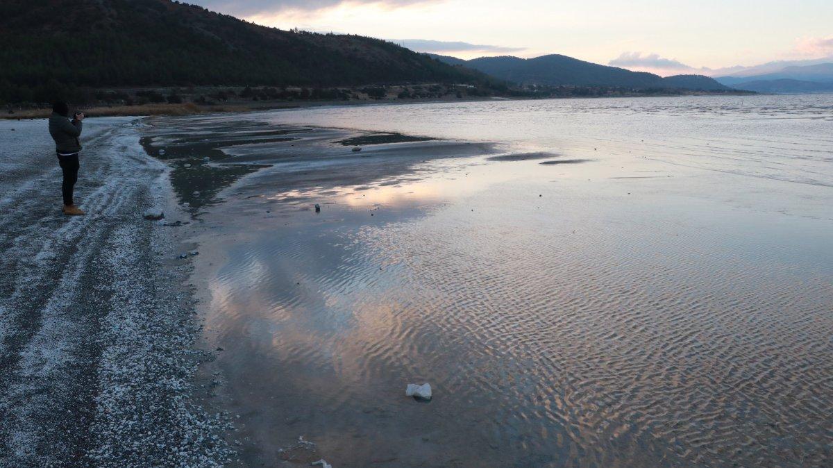 Salda Gölü, kuraklık nedeniyle 10 yılda 30 metre çekildi #4