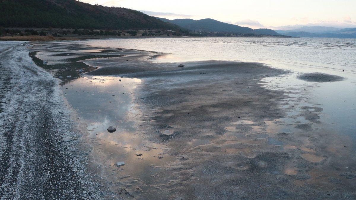 Salda Gölü, kuraklık nedeniyle 10 yılda 30 metre çekildi #6