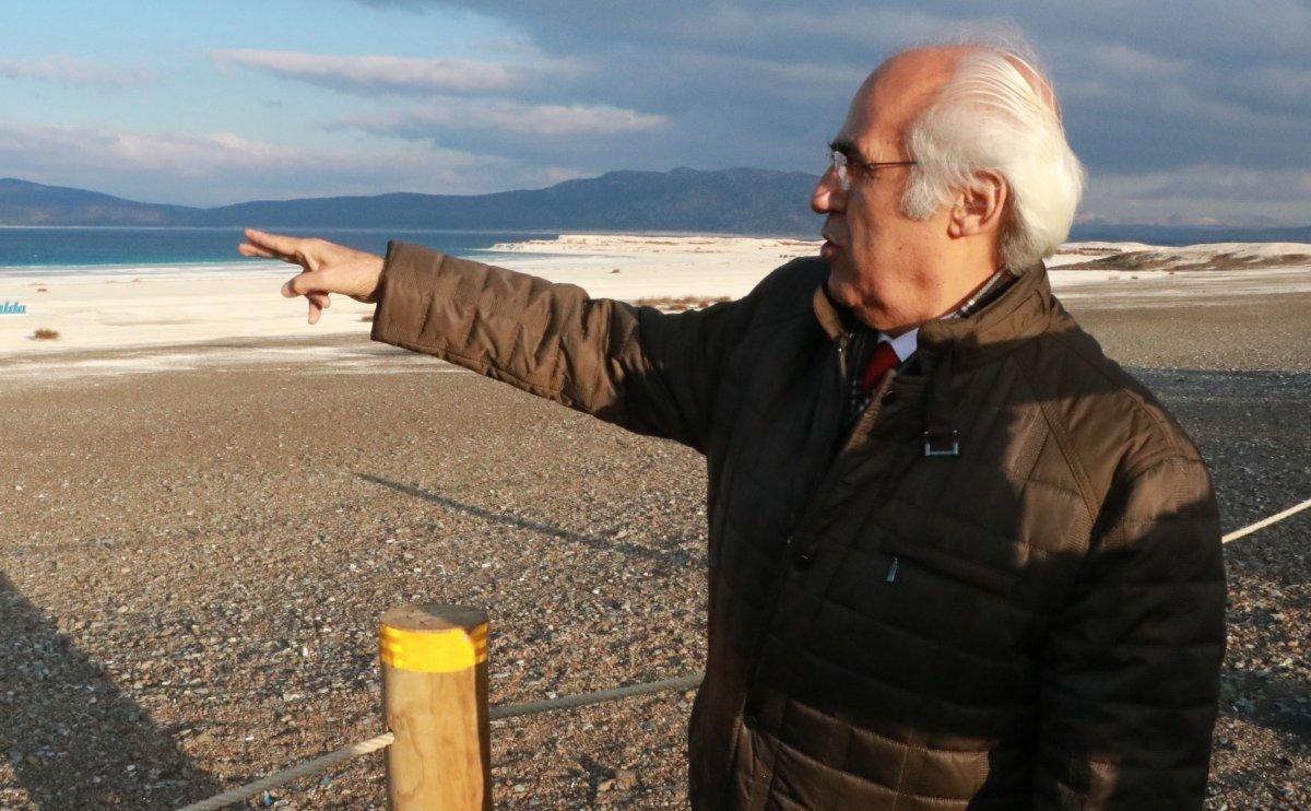 Salda Gölü, kuraklık nedeniyle 10 yılda 30 metre çekildi #1