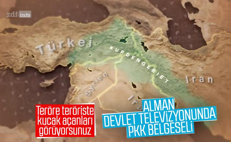 Alman devlet televizyonunda PKK belgeseli