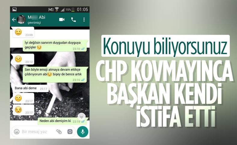 Tacizle suçlanan CHP Osmangazi İlçe Başkanı istifa etti