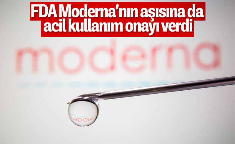 FDA, Moderna'nın aşısını onayladı