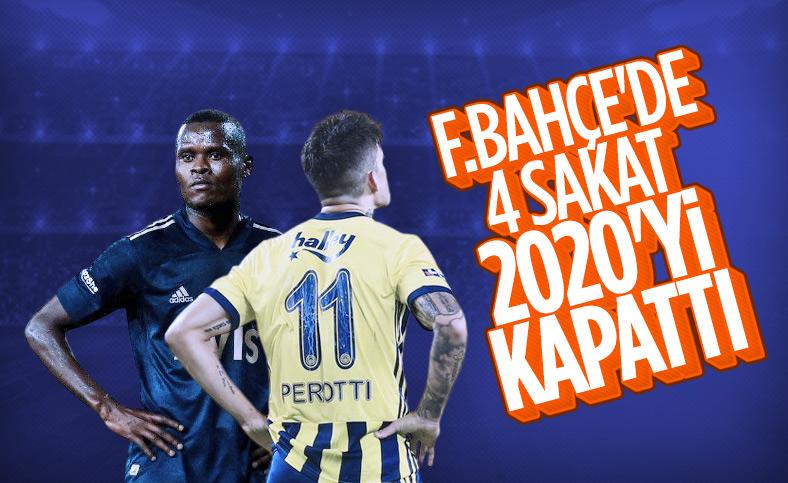 Fenerbahçe'de 4 sakat futbolcunun son durumu