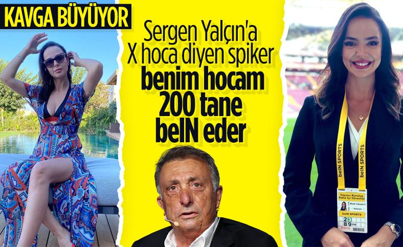Ahmet Nur Çebi'den beIN spikeri Nazlı Canyurt'a cevap