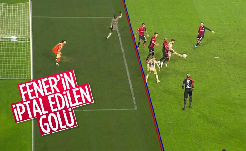 Pelkas'ın iptal edilen golü tartışılıyor
