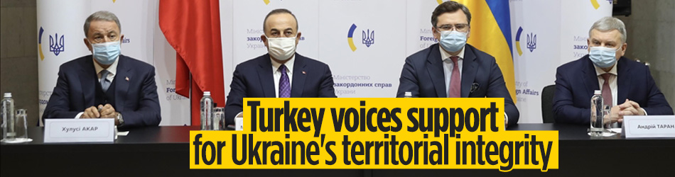 Turkey supports Ukraine for sovereignty, territorial integrity