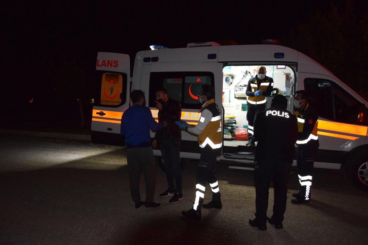 Antalya da alkollü sürücü otomobiliyle birlikte dereye düştü #3