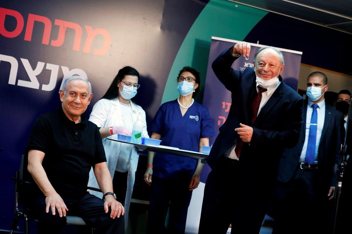 İsrail Başbakanı Netanyahu, canlı yayında koronavirüs aşısı oldu
