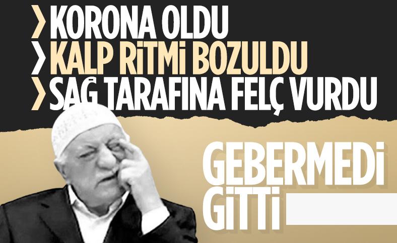 Fetullah Gülen koronavirüs oldu ardından felç kaldı