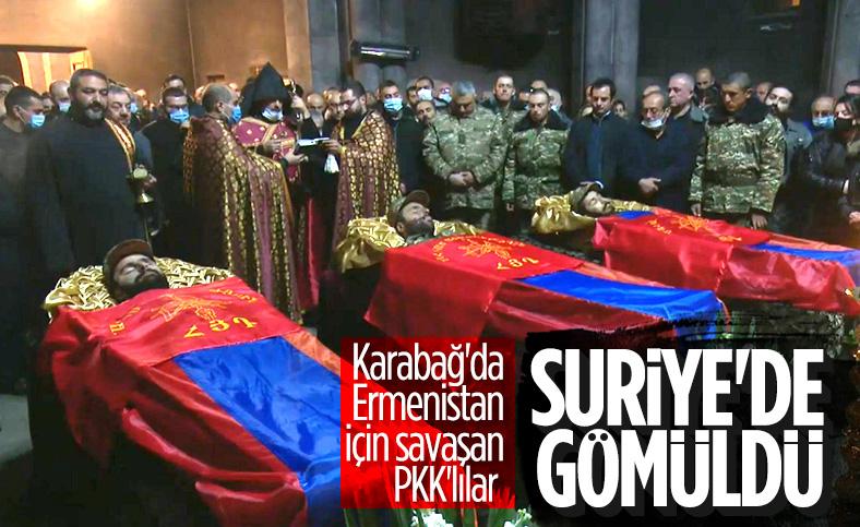 Ermenistan için savaşan PKK'lıların cesetleri Halep'te