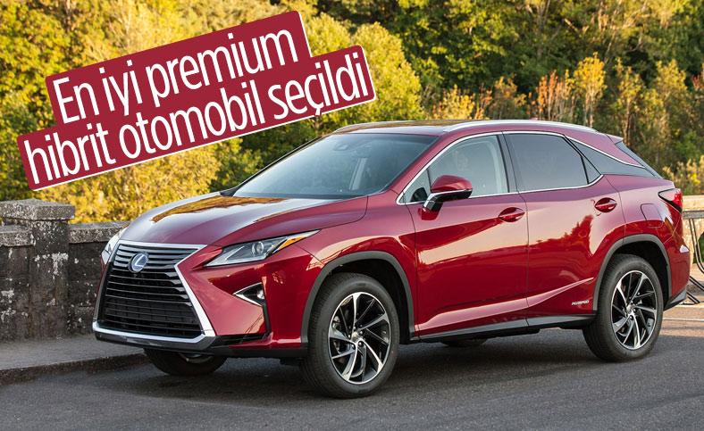 Lexus RX, en iyi premium hibrit otomobil seçildi