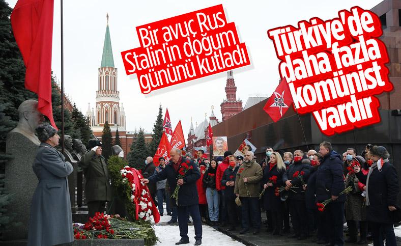 Rusya'da Joseph Stalin'in 141'inci doğum günü kutlandı