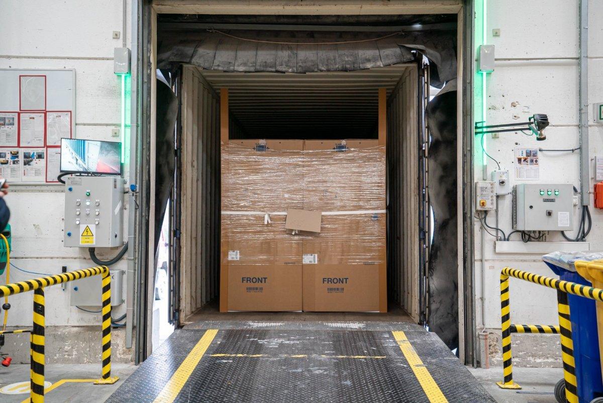 Çin'e giden ikinci ihracat treni yola çıktı #2