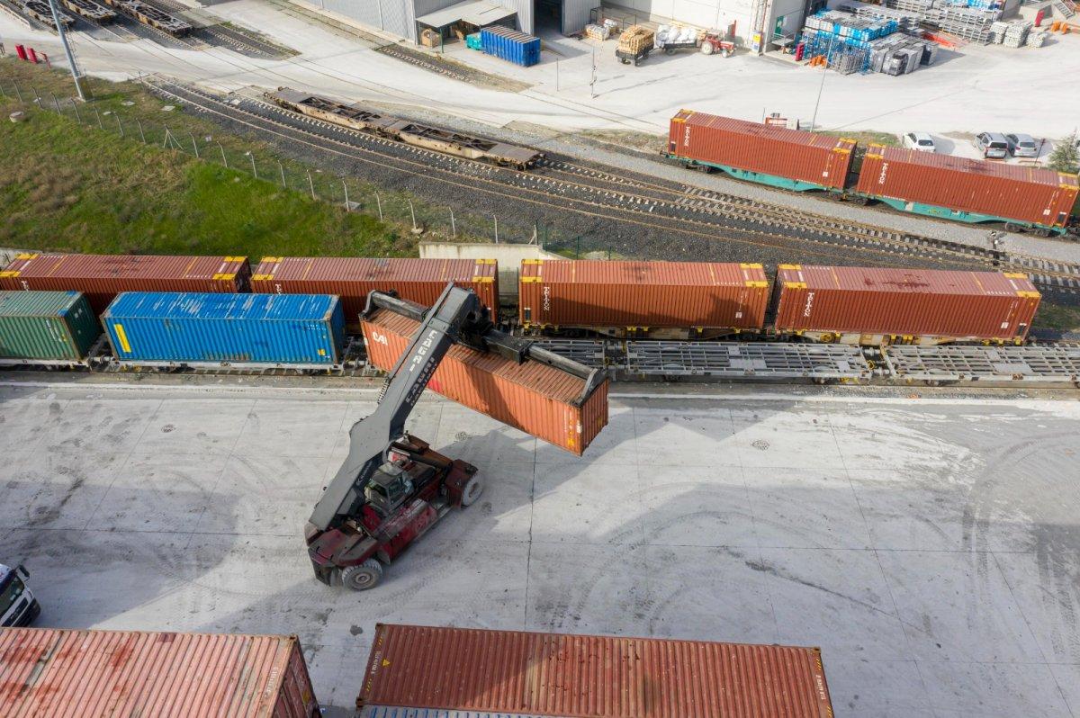 Çin'e giden ikinci ihracat treni yola çıktı #3