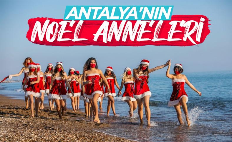 Antalyalı Noel annelerden sağlık mesajı