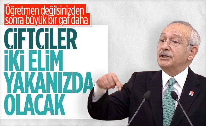 Kemal Kılıçdaroğlu'ndan AK Parti'ye oy verecek çiftçilere tehdit